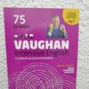 Libros de segunda mano: VAUGHAN, INTENSIVE ENGLISH. CURSO DE INGLÉS MULTIPLATAFORMA. CD N° 75. Lote 160928090
