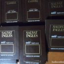 Libros de segunda mano: SALVAT INGLÉS. BBC ENGLISH COURSE. CÍRCULO DE LECTORES. 11 LIBROS, 22 CASSETTES, DICCIONARIO CASSELL. Lote 165789862