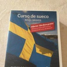 Libros de segunda mano: CURSO BASICO DE SUECO DEL ESPAÑOL AL SUECO 4 CD INCLUYE LIBRO DE EJERCICIOS. Lote 233051615