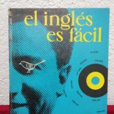 Libros de segunda mano: EL INGLÉS ES FÁCIL. VISUAL PHONE. CONTIENE 12 VINILOS.. Lote 168433373