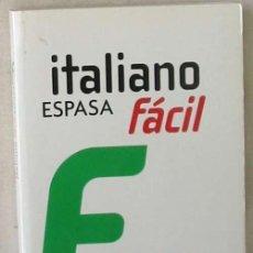 Libros de segunda mano: ITALIANO FÁCIL - EL CURSO MÁS SENCILLO Y EFICAZ - EMILIANO BRUNO - ESPASA 2009 - VER INDICE. Lote 168685364