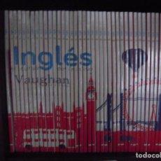 Libros de segunda mano: VAUGHAN INGLES EL CURSO DEFINITIVO COMPLETO 40 LIBROS Y CDS. Lote 169089852