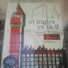Libros de segunda mano: EL INGLÉS ES FÁCIL - EDICIONES AFHA - TOMO III - GRADO SUPERIOR - 1973. Lote 171017502