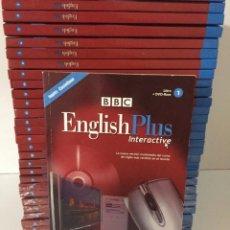 Libros de segunda mano: ENGLISH PLUS INTERACTIVE - BBC ( LIBRO + DVD-ROM ) COLECCION DE 29 TOMOS. Lote 171209263