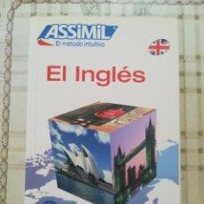Libros de segunda mano: EL INGLES - ANTHONY BULGER - ASSIMIL. EL MÉTODO INTUITIVO. Lote 171614142
