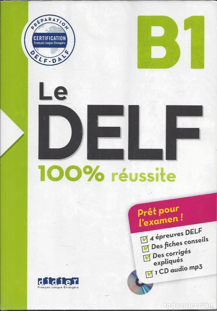 LE DELF B1. 100% RÉUSSITE. CON CD (Libros de Segunda Mano - Cursos de Idiomas)