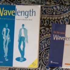 Libros de segunda mano: WAVELENGHT ELEMENTARY TEACHER'S RESOURCE BOOK . Lote 173595703