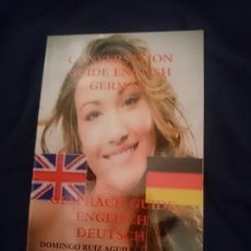 Libros de segunda mano: CONVERSATION GUIDE ENGLISH GERMAN. Lote 173599963