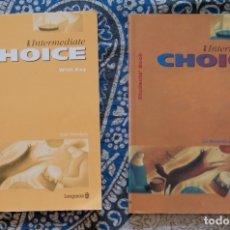 Libros de segunda mano: THE INTERMEDIATE CHOICE . Lote 173653553