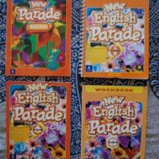 Libros de segunda mano: NEW PARADE STARTER + NEW ENGLISH PARADE STARTER A + STARTER B. Lote 173655727