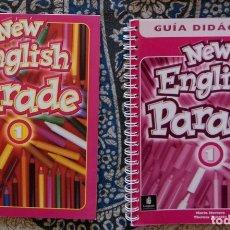 Libros de segunda mano: NEW ENGLISH PARADE 1. Lote 173656829