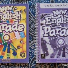 Libros de segunda mano: NEW ENGLISH PARADE 2 . Lote 173657847