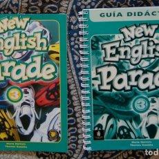 Libros de segunda mano: NEW ENGLISH PARADE 3 . Lote 173658554