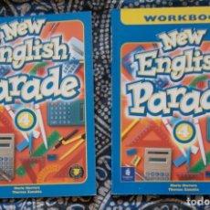 Libros de segunda mano: NEW ENGLISH PARADE 4 . Lote 173658999
