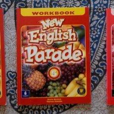 Libros de segunda mano: NEW ENGLISH PARADE 5. Lote 173659815