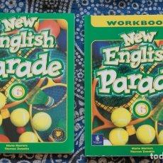 Libros de segunda mano: NEW ENGLISH PARADE 6 . Lote 173660245