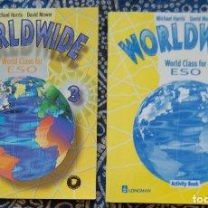 Libros de segunda mano: WORLDWIDE WORLD CLASS FOR ESO 3 . Lote 173666894