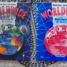 Libros de segunda mano: WORLDWIDE WORLD CLASS FOR ESO 4 . Lote 173667133