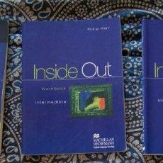 Libros de segunda mano: INSIDE OUT INTERMEDIATE. Lote 173670178