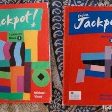 Libros de segunda mano: ENGLISH JACKPOT 3 . Lote 173678547