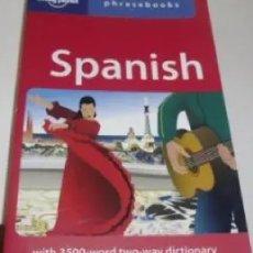 Libros de segunda mano: LONELY PLANET - SPANISH PHRASEBOOK. Lote 173779844