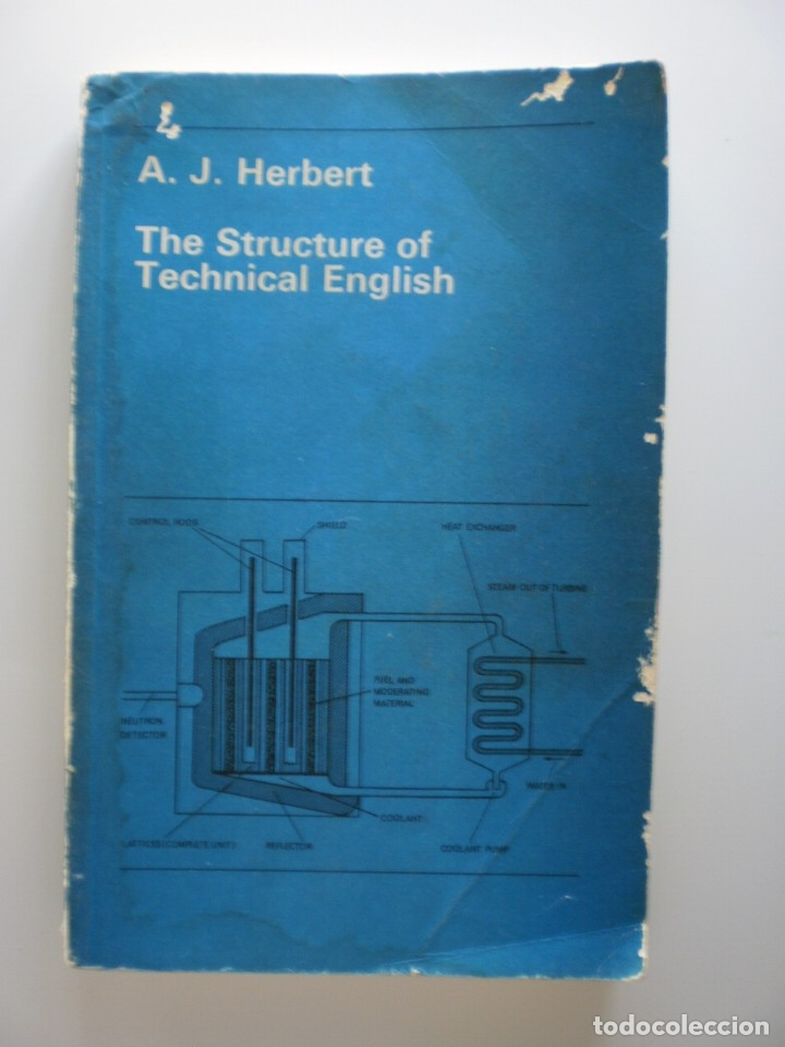 THE STRUCTURE OF TECHNICAL ENGLISH (Libros de Segunda Mano - Cursos de Idiomas)