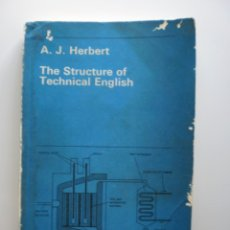 Libros de segunda mano: THE STRUCTURE OF TECHNICAL ENGLISH. Lote 174126934