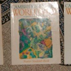 Libros de segunda mano: CAMBRIDGE ENGLISH WORLDWIDE STARTER . Lote 174980178