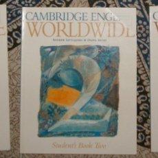 Libros de segunda mano: CAMBRIDGE ENGLISH WORLDWIDE TWO. Lote 174981189