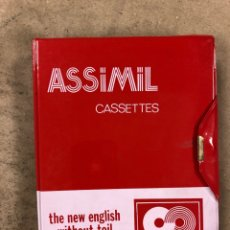 Libros de segunda mano: ASSIMIL CASSETTES, THE NEW ENGLISH WITHOUT TOIL. ESTUCHE CON 4 CASSETTES.. Lote 175111195