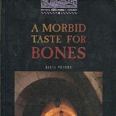 Libros de segunda mano: A MORBID TASTE FOR BONES ELLIS PETERS OXFORD 4 . Lote 175460108
