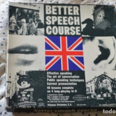 Libros de segunda mano: CURSO INGLES LIVING ENGLISH, BETTER SPEECH COURSE. Lote 175835407