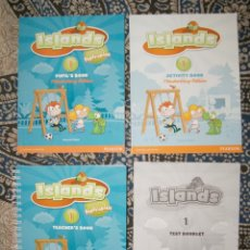 Libros de segunda mano: ISLANDS 1. Lote 175991490