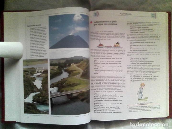 Libros de segunda mano: Curso de inglés Planeta-Agostini completo - 8 vol. + 32 cassettes + 4 estuches + 20 libros - 1990 - Foto 10 - 176061608