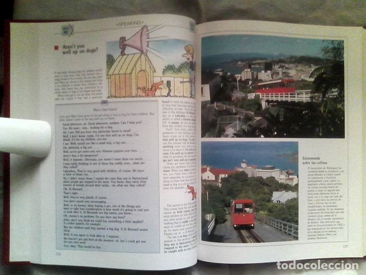 Libros de segunda mano: Curso de inglés Planeta-Agostini completo - 8 vol. + 32 cassettes + 4 estuches + 20 libros - 1990 - Foto 6 - 176061608