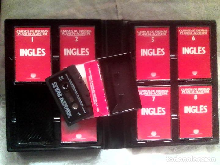 Libros de segunda mano: Curso de inglés Planeta-Agostini completo - 8 vol. + 32 cassettes + 4 estuches + 20 libros - 1990 - Foto 2 - 176061608