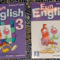 Libros de segunda mano: FUN ENGLISH 3 . Lote 176154935