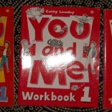 Libros de segunda mano: YOU AND ME 1. Lote 176190320