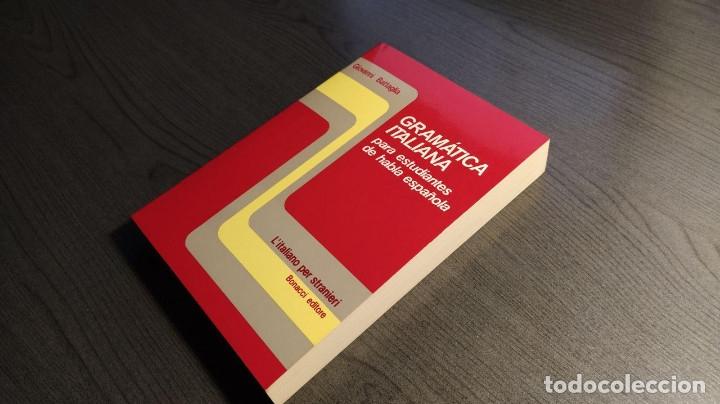 Libros de segunda mano: Gramatica italiana para estudiantes de habla española . - Giovanni Battaglia. Bonacci editore - Foto 2 - 176218109