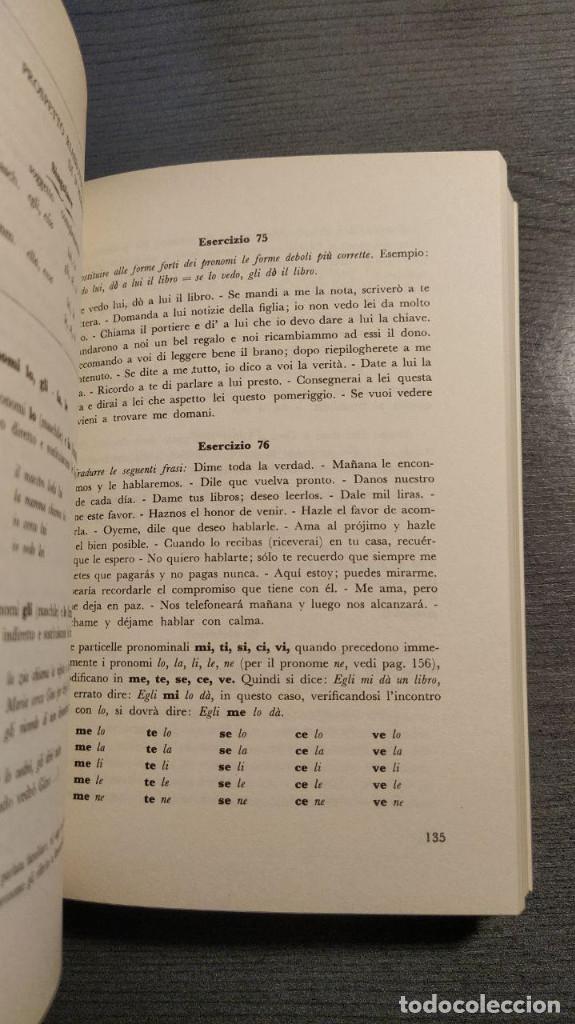 Libros de segunda mano: Gramatica italiana para estudiantes de habla española . - Giovanni Battaglia. Bonacci editore - Foto 3 - 176218109