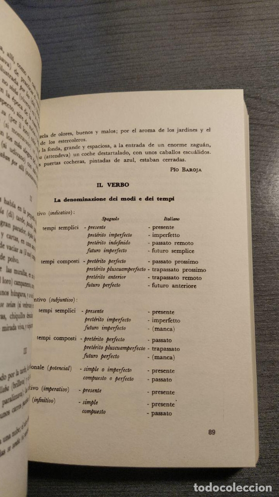 Libros de segunda mano: Gramatica italiana para estudiantes de habla española . - Giovanni Battaglia. Bonacci editore - Foto 6 - 176218109
