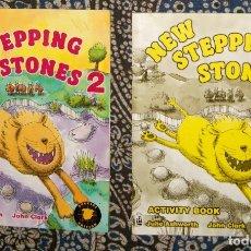 Libros de segunda mano: NEW STEPPING STONES 2. Lote 176289819