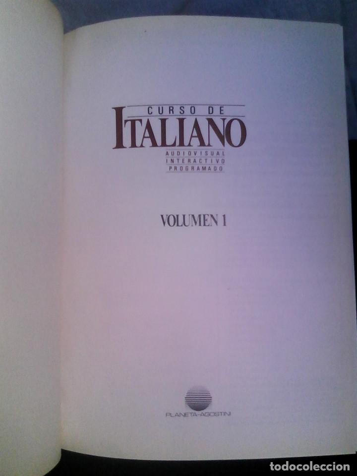 Libros de segunda mano: Curso de italiano Planeta-Agostini completo (6 tomos + 5 estuches con 36 cassetes) - Foto 4 - 177293034