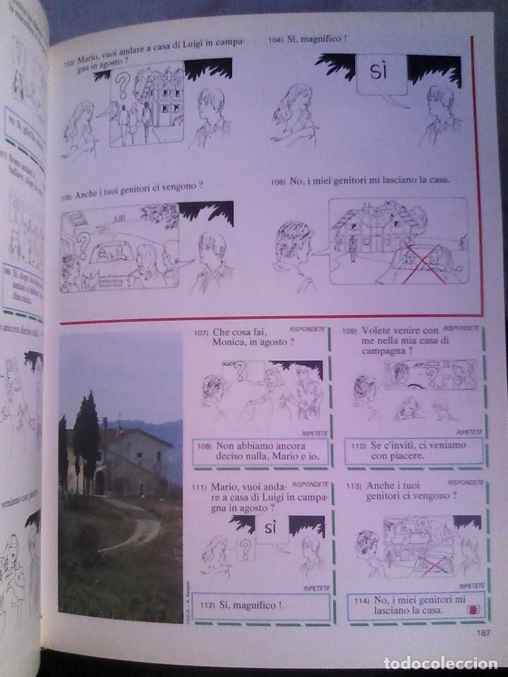 Libros de segunda mano: Curso de italiano Planeta-Agostini completo (6 tomos + 5 estuches con 36 cassetes) - Foto 5 - 177293034