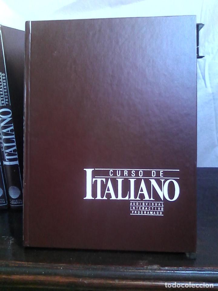 Libros de segunda mano: Curso de italiano Planeta-Agostini completo (6 tomos + 5 estuches con 36 cassetes) - Foto 3 - 177293034