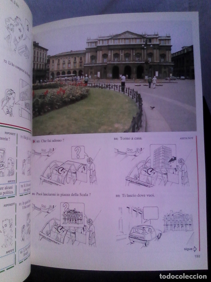 Libros de segunda mano: Curso de italiano Planeta-Agostini completo (6 tomos + 5 estuches con 36 cassetes) - Foto 8 - 177293034