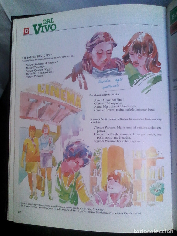 Libros de segunda mano: Curso de italiano Planeta-Agostini completo (6 tomos + 5 estuches con 36 cassetes) - Foto 11 - 177293034