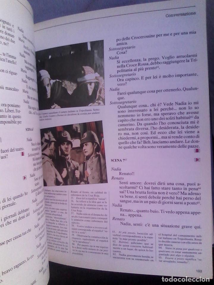 Libros de segunda mano: Curso de italiano Planeta-Agostini completo (6 tomos + 5 estuches con 36 cassetes) - Foto 12 - 177293034