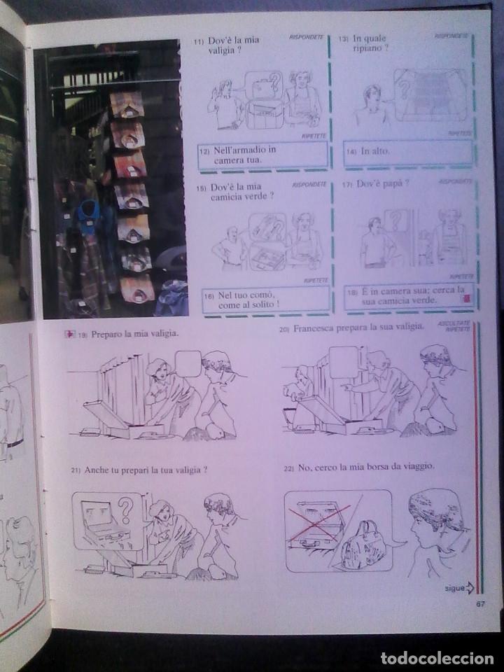 Libros de segunda mano: Curso de italiano Planeta-Agostini completo (6 tomos + 5 estuches con 36 cassetes) - Foto 15 - 177293034
