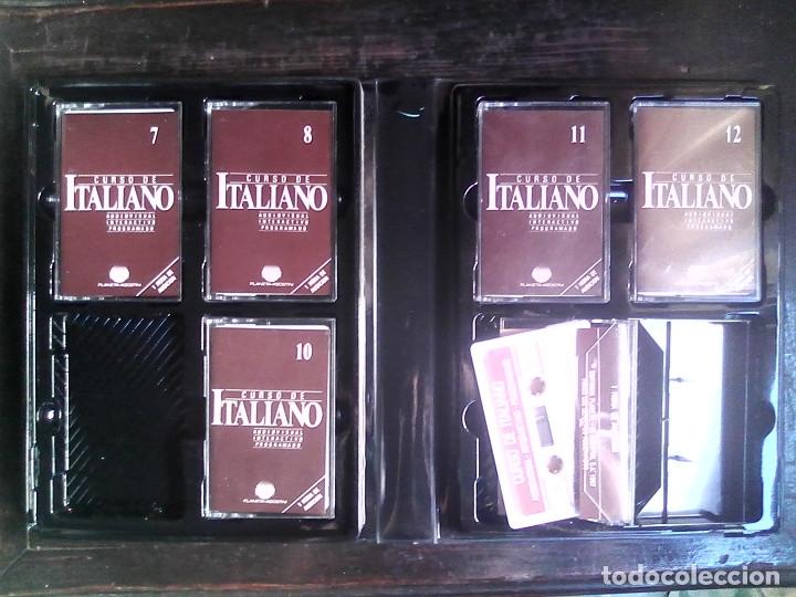 Libros de segunda mano: Curso de italiano Planeta-Agostini completo (6 tomos + 5 estuches con 36 cassetes) - Foto 20 - 177293034